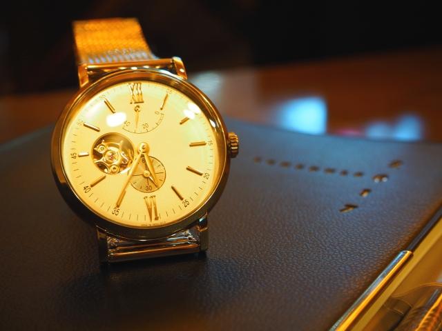 高級感のある時計
